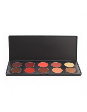 10 Shade Standard Lipstick B