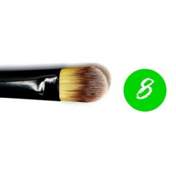Green Dot Brush 8